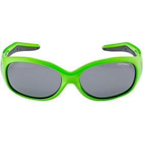 Alpina Flexxy Lunettes Enfant, green dino
